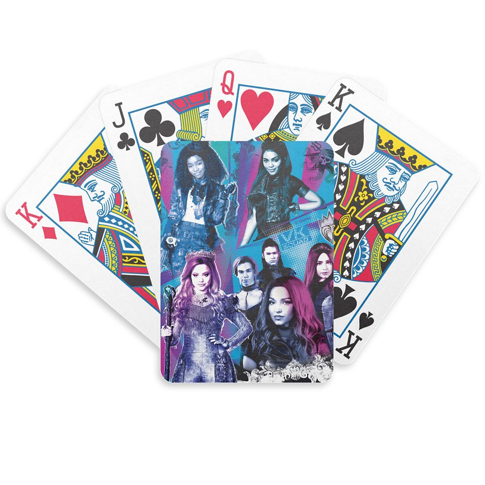 Descendants 3: VK Squad Bicycle Playing Cards – Customized