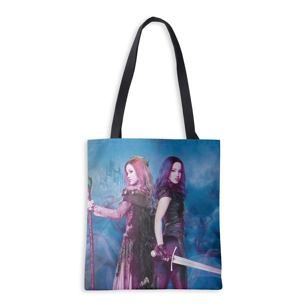 shopdisney.com - Mal & Audrey: Wicked Showdown Tote Bag  Descendants 3  Customized Official shopDisney 19.95 USD