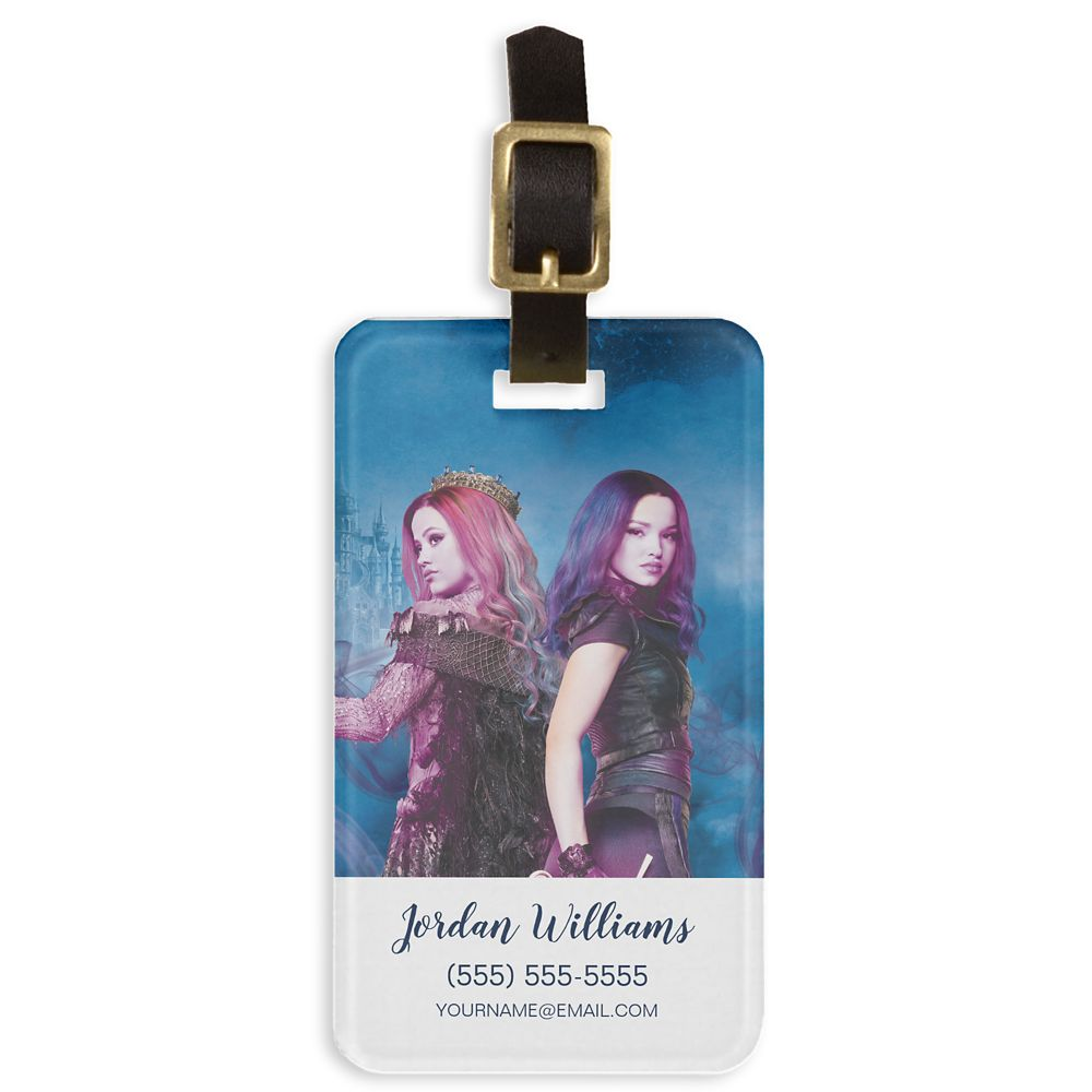 Mal & Audrey: Wicked Showdown Bag Tag  Descendants 3  Customized Official shopDisney