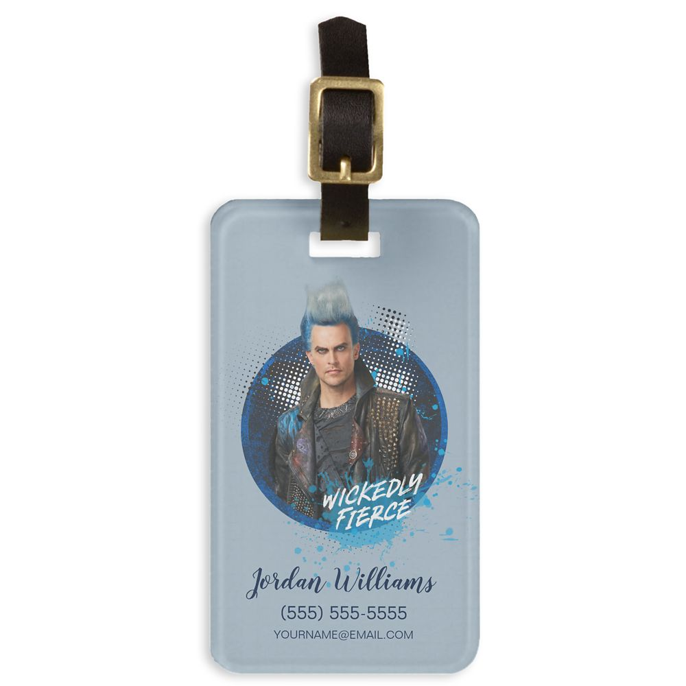 Hades: Wickedly Fierce Bag Tag  Descendants 3  Customized Official shopDisney