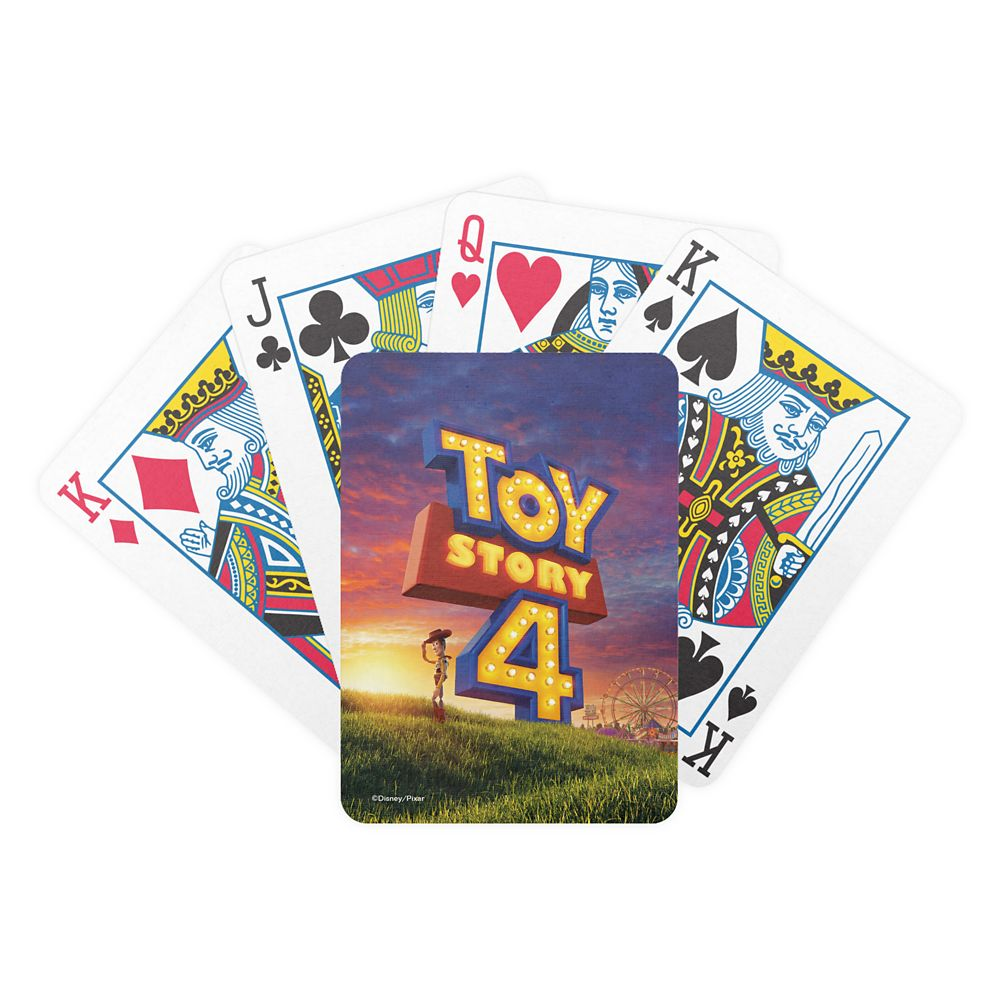 Toy Story 4: Woody On Field Theatrical Poster Bicycle Playing Cards – Customizable