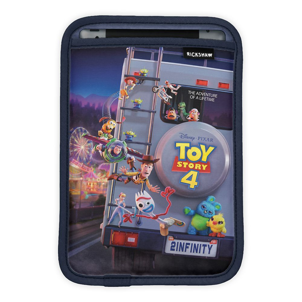 Toy Story 4: Toys Riding RV Theatrical Poster iPad Mini Sleeve – Customizable