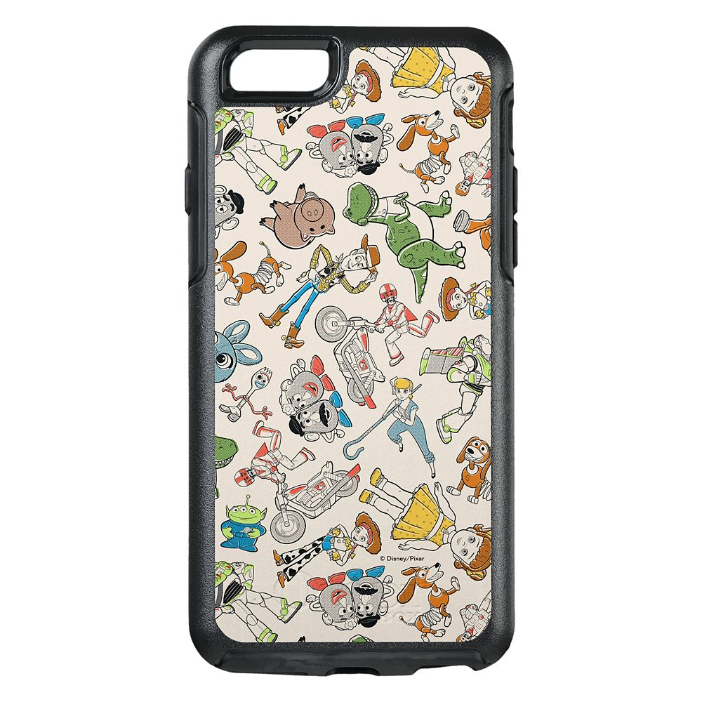 Toy Story 4: Retro Character Toss Pattern OtterBox iPhone Case 8/7 Case – Customizable