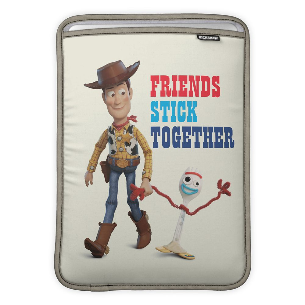 Toy Story 4: Woody and Forky Walking Together MacBook Air Sleeve – Customizable
