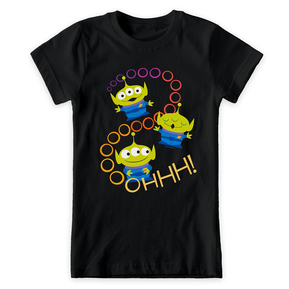Toy Story 4: Aliens ''Ooooh'' T-Shirt for Girls – Customizable