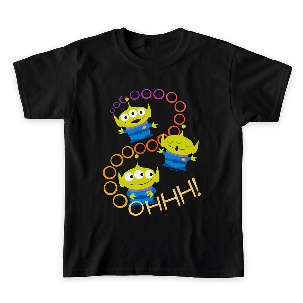 Toy Story 4: Aliens ''Ooooh'' T-Shirt for Boys – Customizable