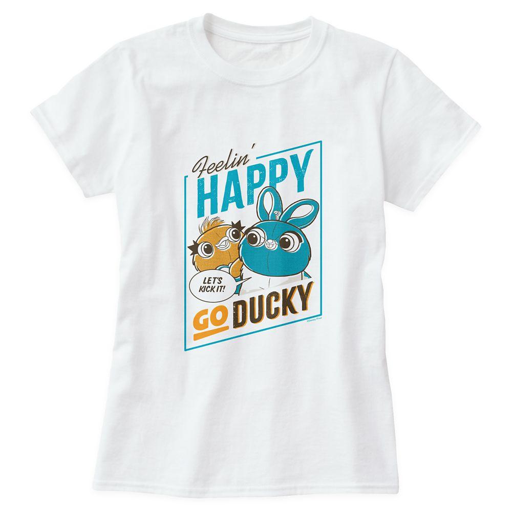 Toy Story 4: Feelin' Happy Go Ducky T-Shirt for Women – Customizable
