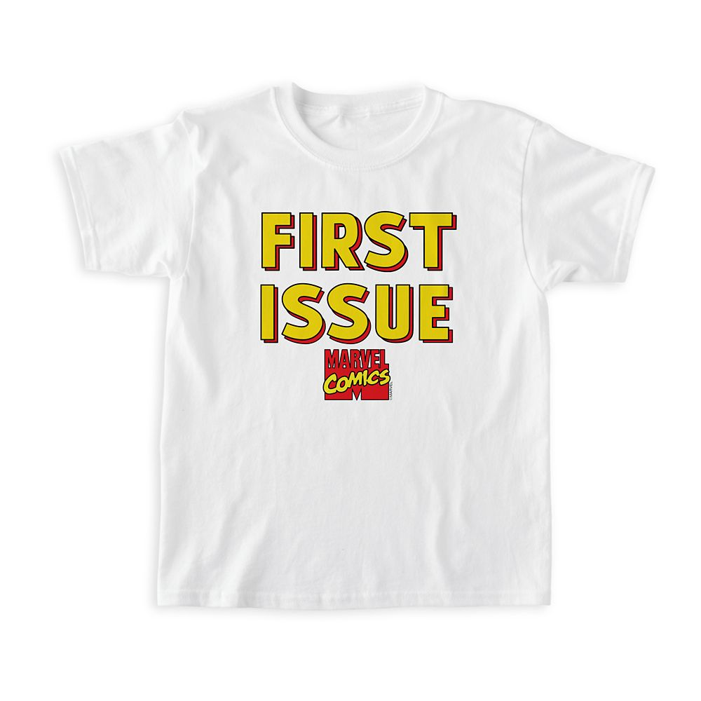 Marvel Comics ''First Issue'' T-Shirt for Boys – Customizable