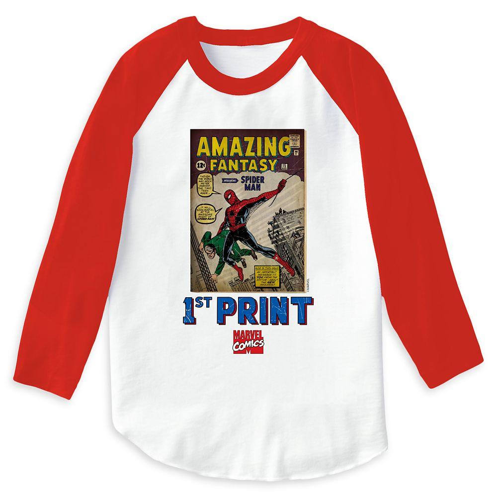 Spider-Man: 1st Print Raglan T-Shirt for Women  Customizable Official shopDisney