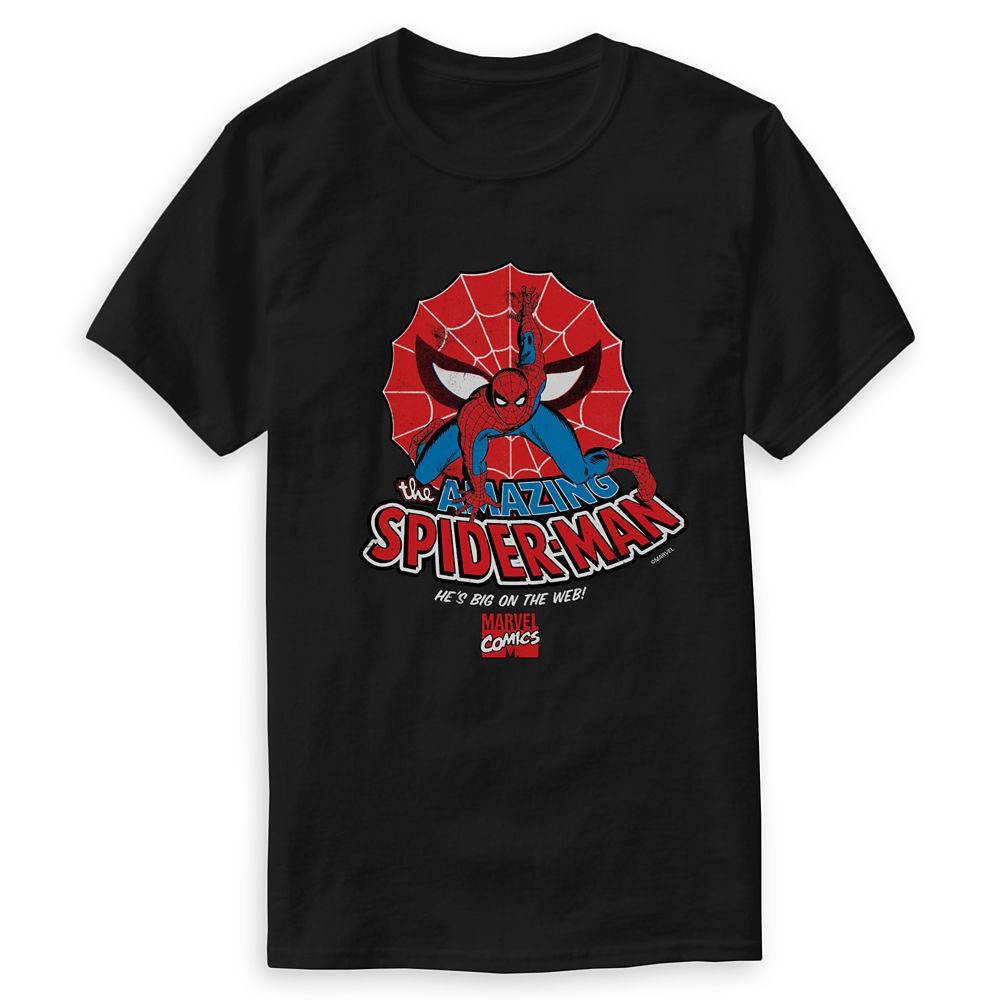 Spider-Man: Big on the Web T-Shirt for Men  Customizable Official shopDisney