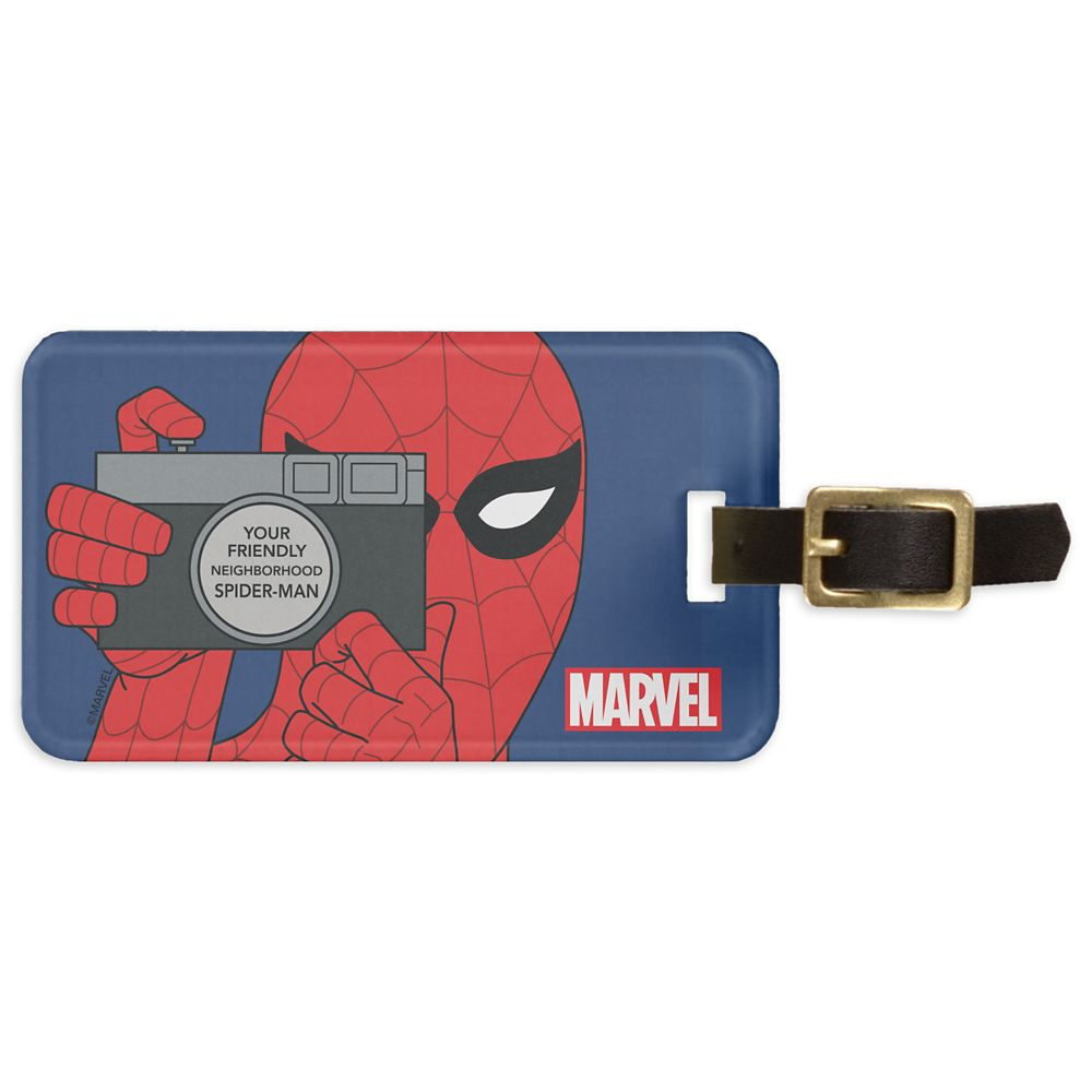 Spider-Man Bag Tag – Customizable