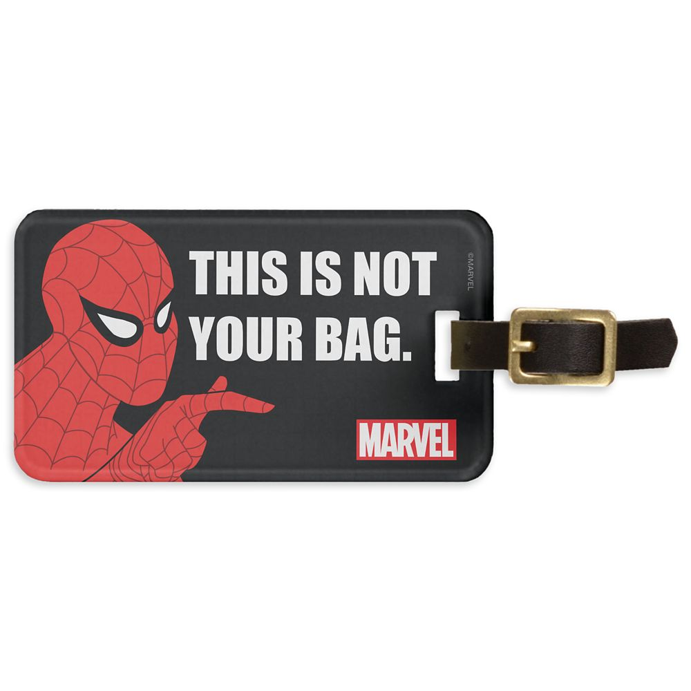 Spider-Man: ''This Is Not Your Bag'' Bag Tag – Customizable