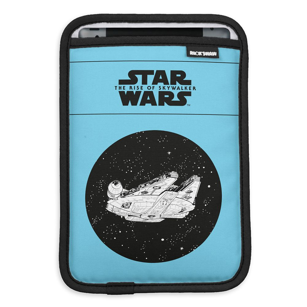 Millennium Falcon in Space iPad Mini Sleeve – Star Wars: The Rise of Skywalker – Customizable
