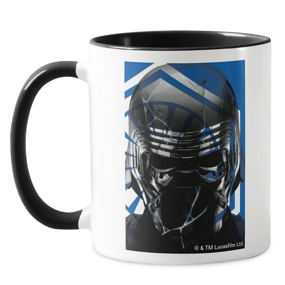 First Order Logo Kylo Ren Reveal Graphic Mug – Star Wars: The Rise of Skywalker – Customizable