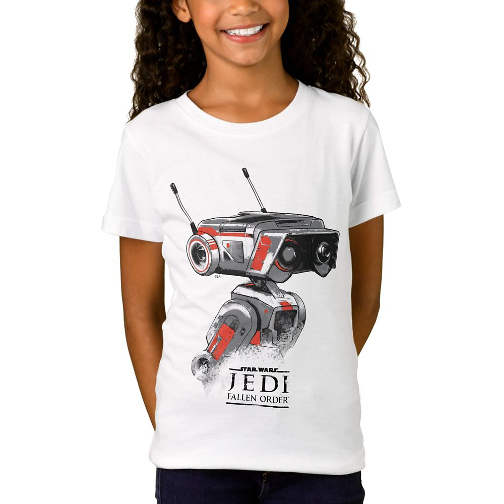 BD-1 T-Shirt for Girls – Star Wars: The Rise of Skywalker – Customizable