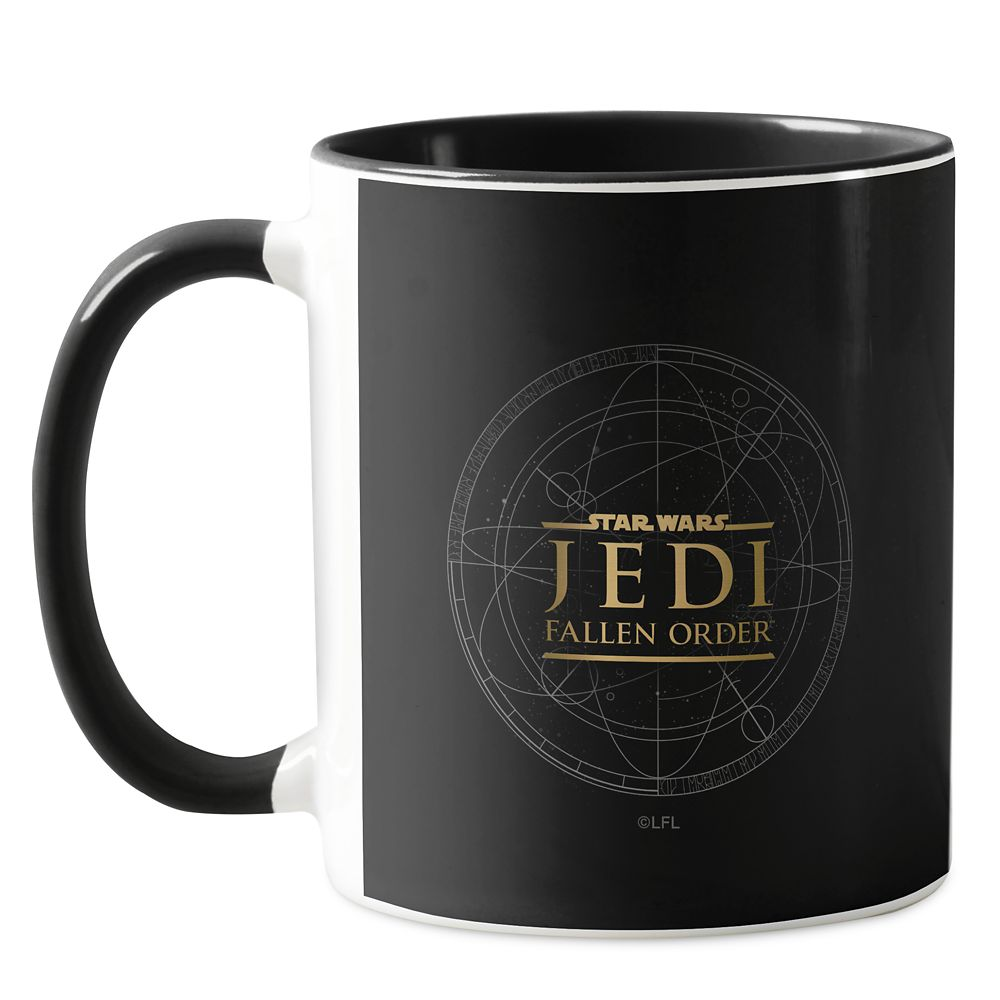 Gold Star Wars Jedi: Fallen Order Mug – Star Wars: The Rise of Skywalker – Customizable