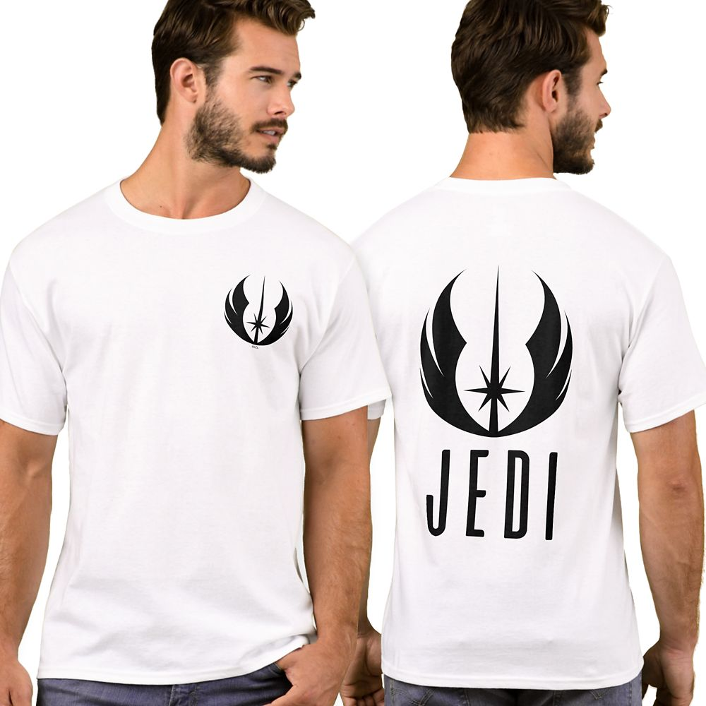 Black Jedi Symbol T-Shirt for Men – Star Wars: The Rise of Skywalker – Customizable