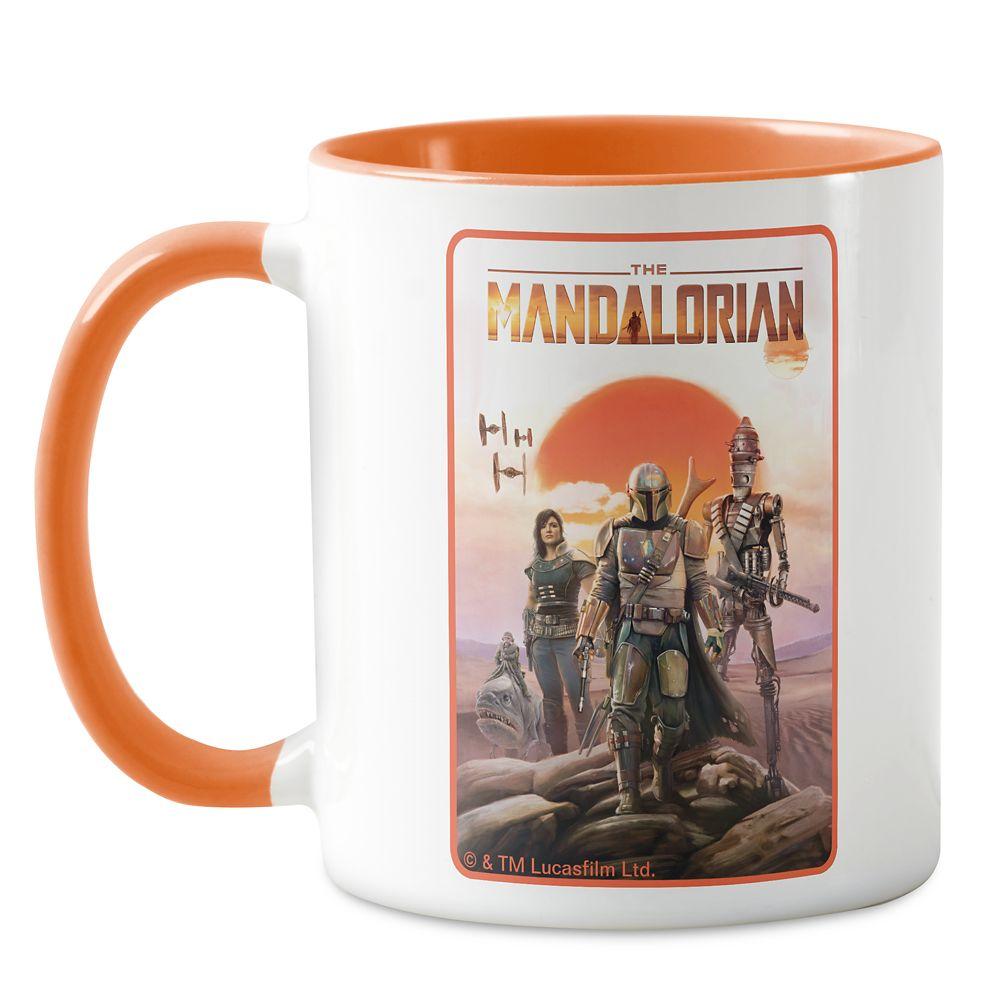 The Mandalorian Desert Sunset Group Art Mug – Star Wars – Customizable