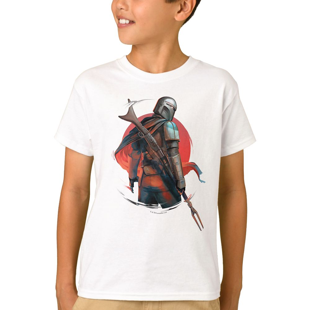 The Mandalorian T-Shirt for Boys – Customizable
