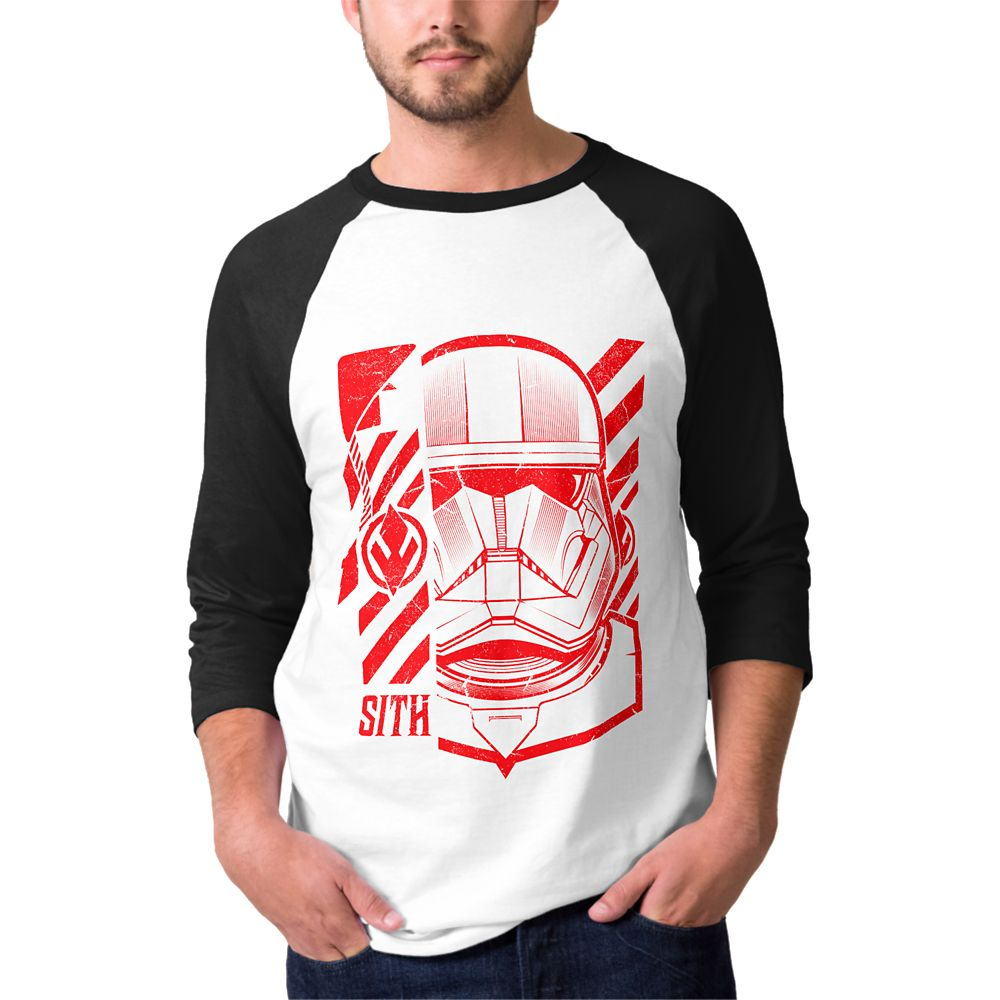 Star Wars D23 Expo 2019 Limited Release Sith Trooper Raglan T-Shirt for Men – Customizable
