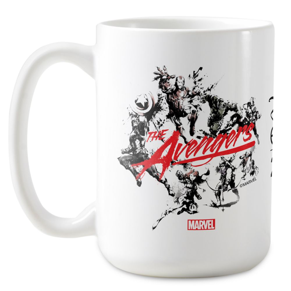 Marvel D23 Expo 2019 The Avengers Brush Art Mug – Customizable