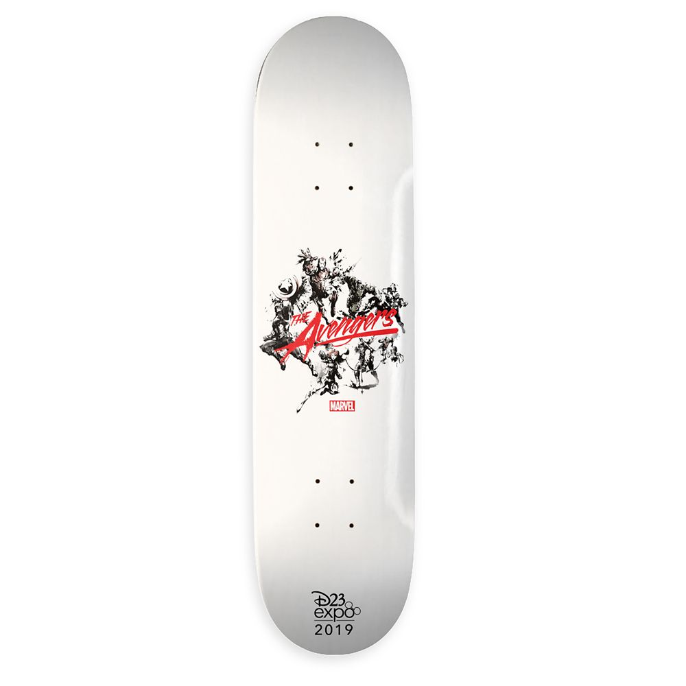 Marvel D23 Expo 2019 The Avengers Brush Art Skateboard Deck – Customizable