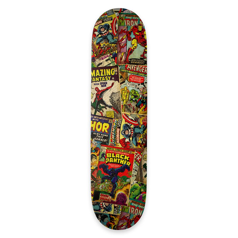 Marvel Comics ''I Have Issues'' Skateboard Deck – Customizable