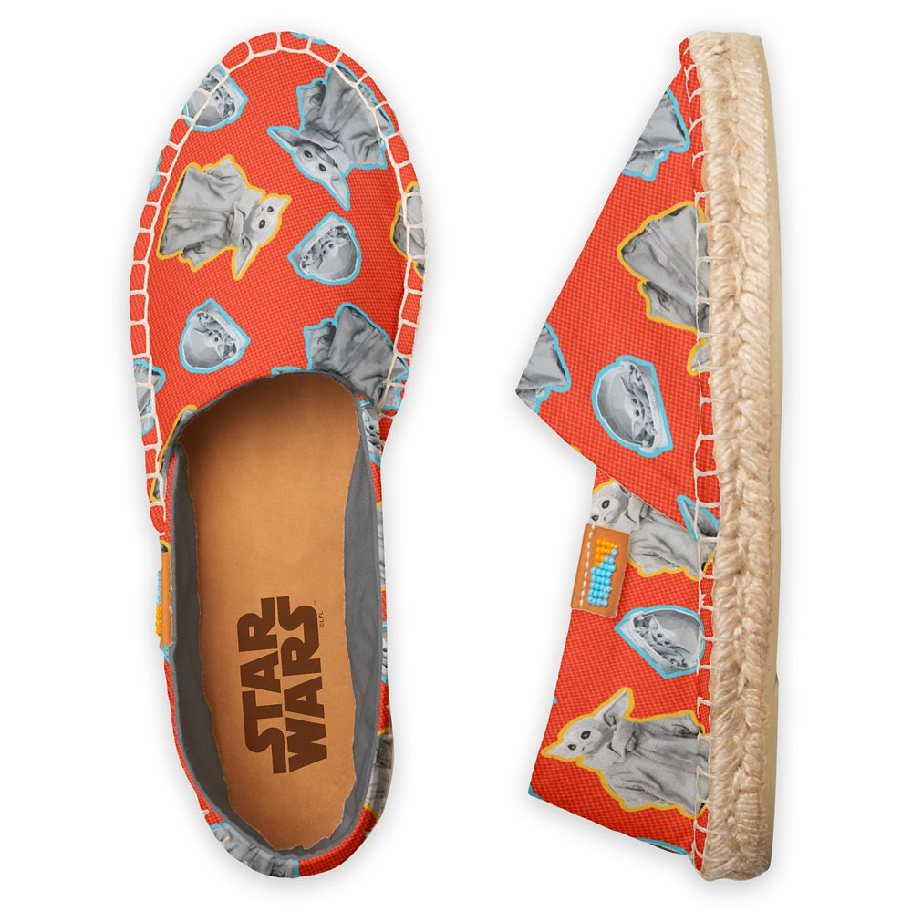 The Child – Star Wars: The Mandalorian Espadrilles for Adults – Orange – Customized