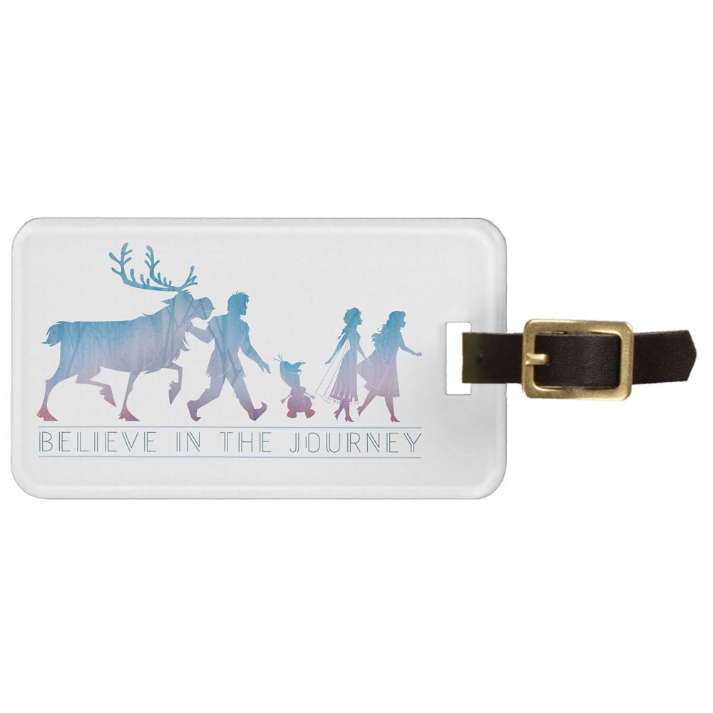 Anna, Elsa & Friends ''Believe in the Journey'' Bag Tag – Frozen 2 – Customizable