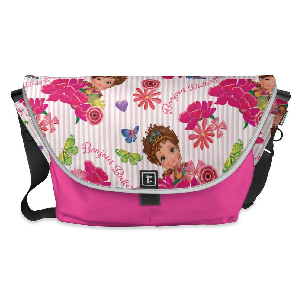 Fancy Nancy: Pink Floral Pattern Courier Bag – Customizable