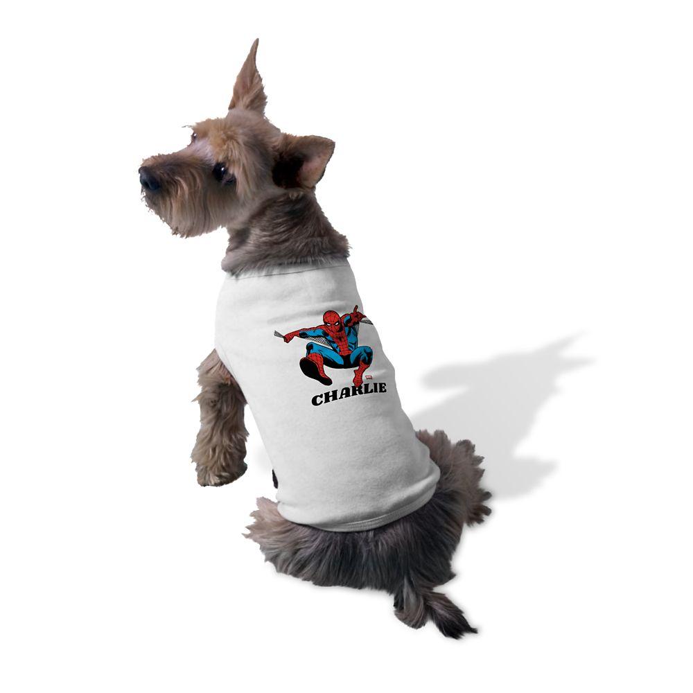Spider-Man Pet Tank Top – Customizable