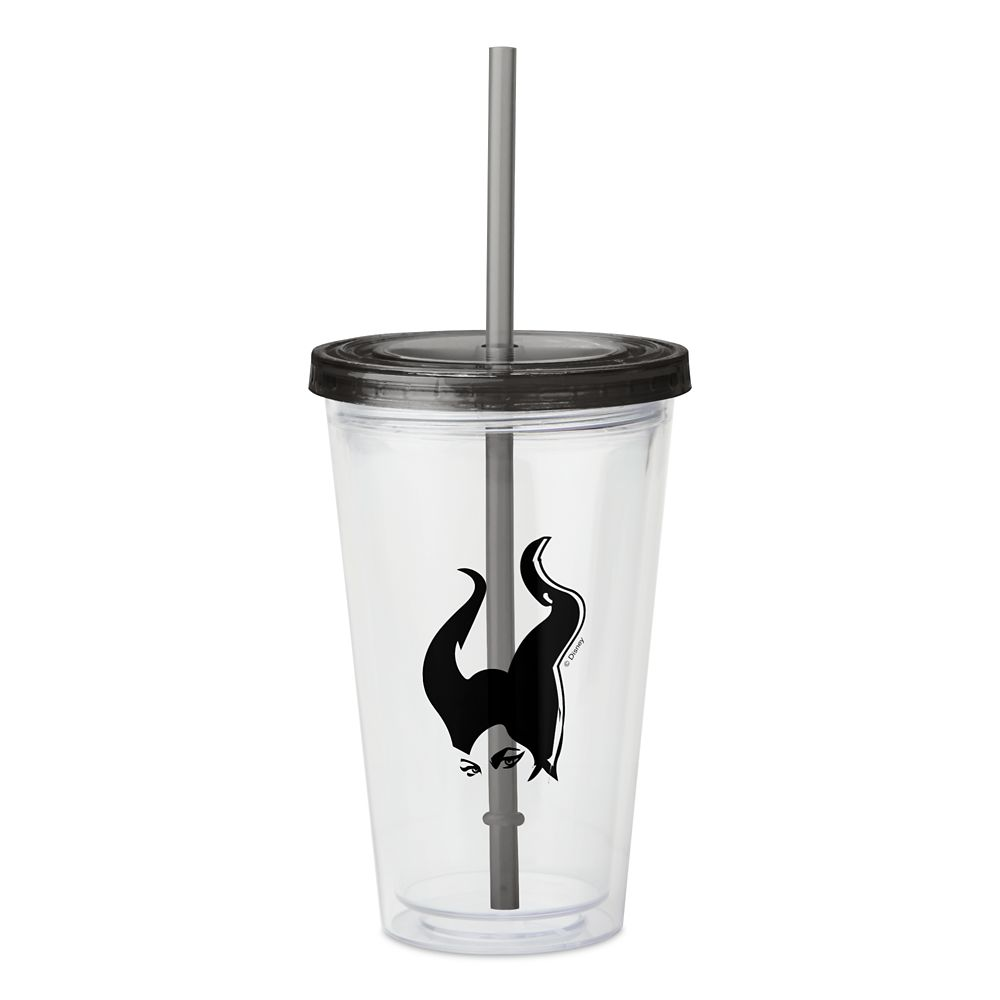 Maleficent: Mistress of Evil – It's All About the Horns Acrylic Tumbler – Customizable