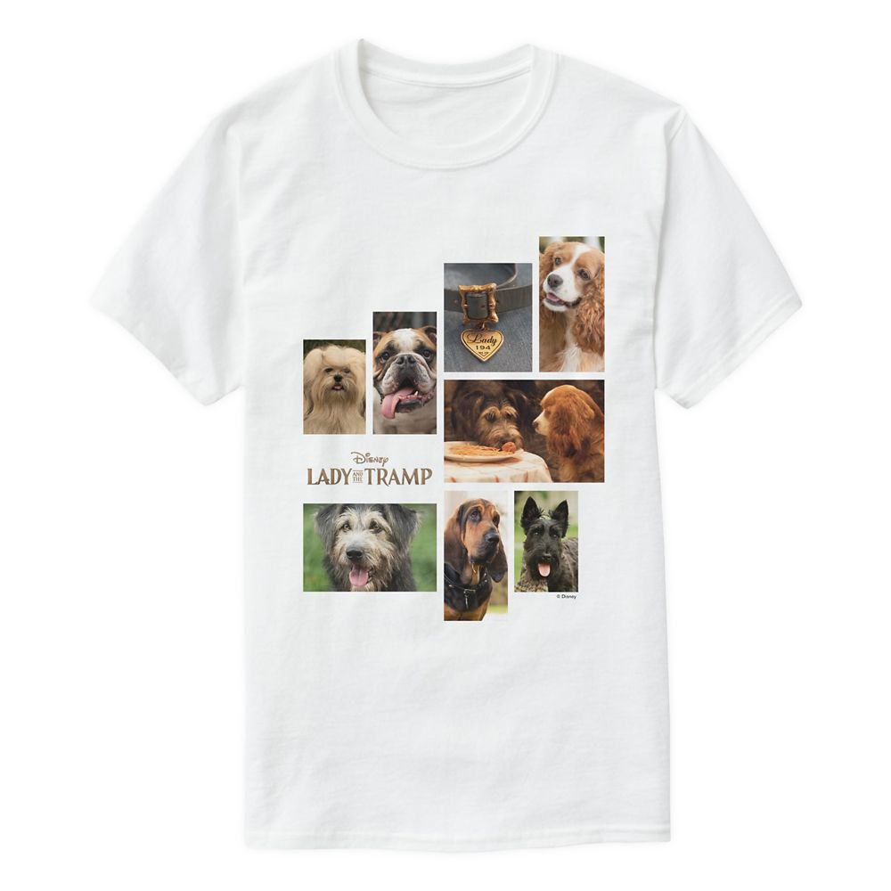 Lady and the Tramp Character T-shirt for Men – Customizable