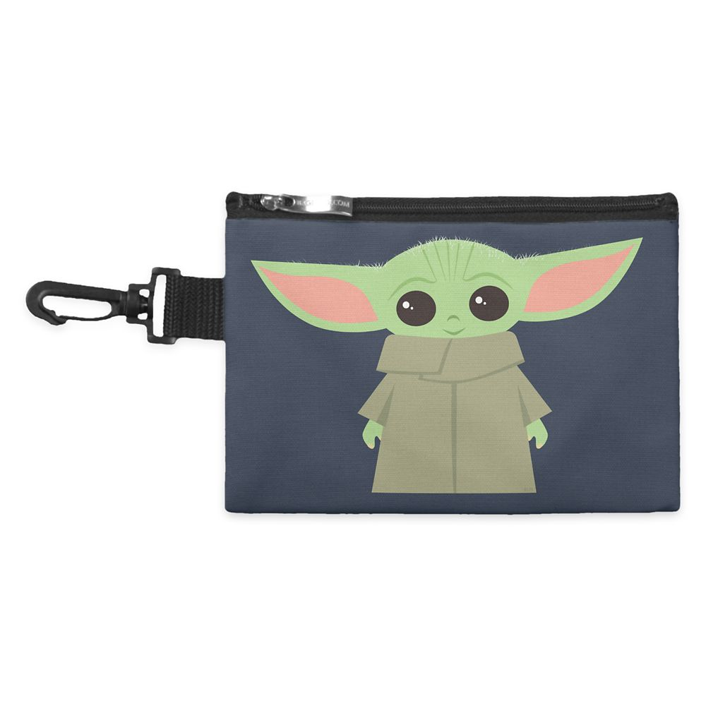 The Child – Star Wars: The Mandalorian Smiling Pastel Artwork Accessory Bag – Customized