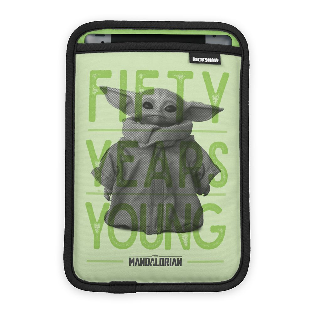 The Child  Star Wars: The Mandalorian 50 Years Young iPad Mini Sleeve  Customized Official shopDisney
