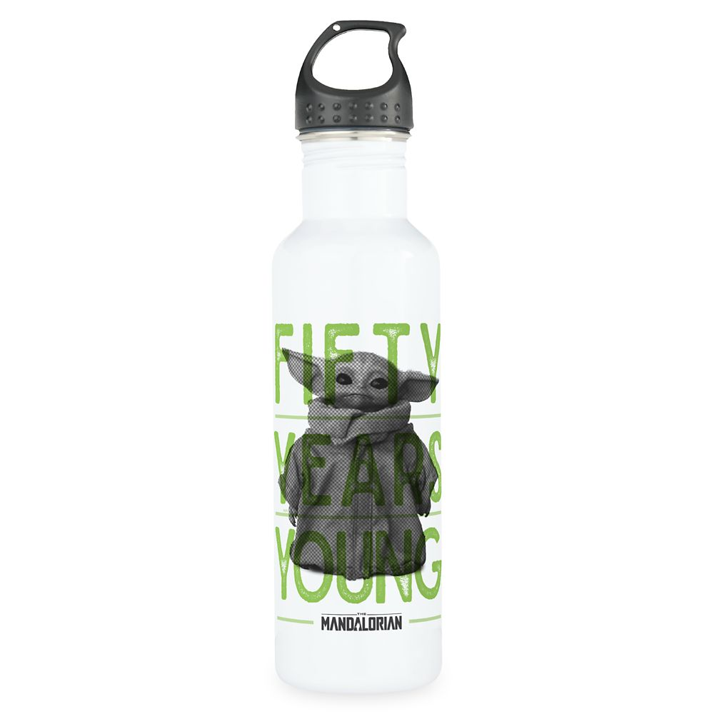 The Child – Star Wars: The Mandalorian 50 Years Young Stainless Steel Water Bottle – Customized