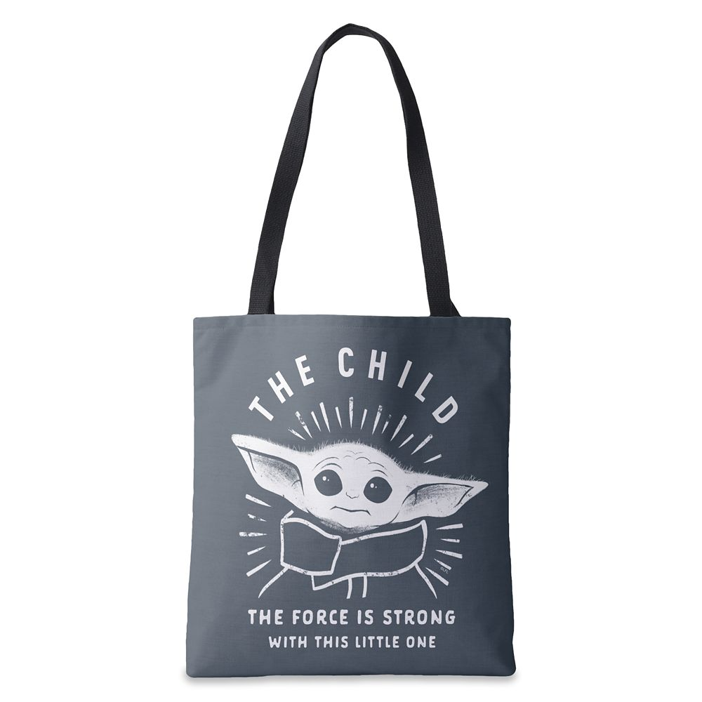 The Child: The Force is Strong With This One Tote Bag – Star Wars: The Mandalorian – Customized