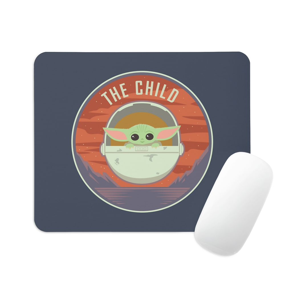 The Child: Mountain Badge Mouse Pad – Star Wars: The Mandalorian – Customized