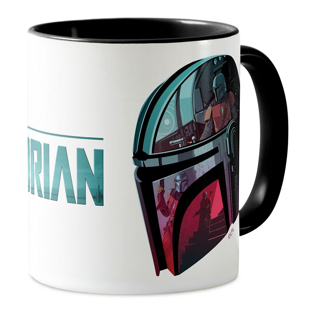 The Mandalorian Helmet Reflections Collage Mug – Star Wars: The Mandalorian – Customized