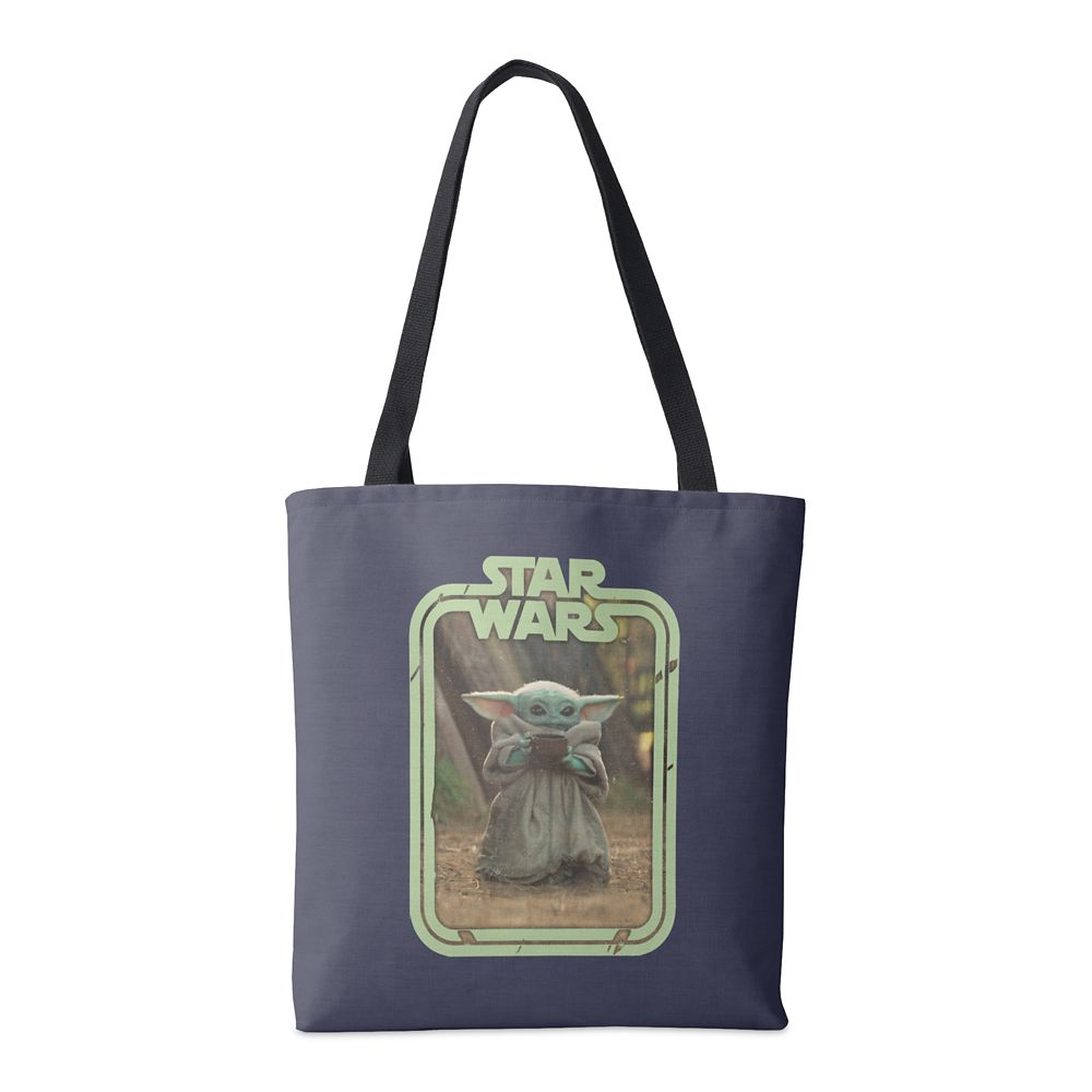 The Child Holding Cup Tote Bag – Star Wars: The Mandalorian – Customized