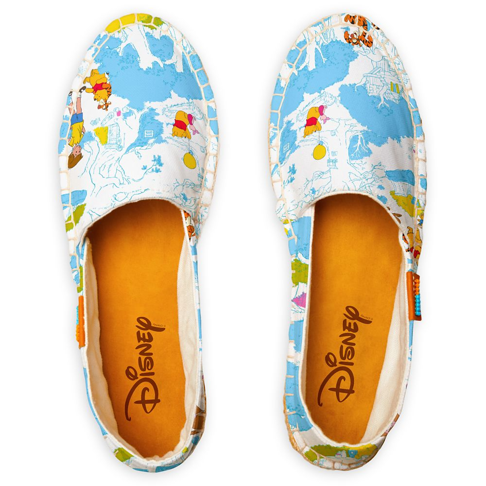 Winnie the Pooh At the Honey Tree Pattern Espadrilles for Women – Customized
