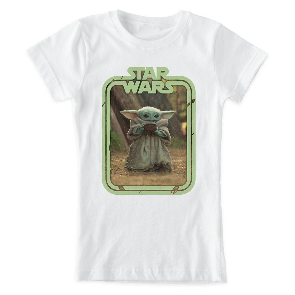 The Child Holding Cup T-Shirt for Kids – Star Wars: The Mandalorian – Customized