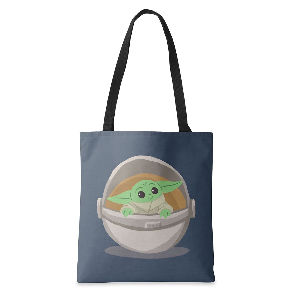 The Child Cartoon Drawing Tote Bag – Star Wars: The Mandalorian – Customized
