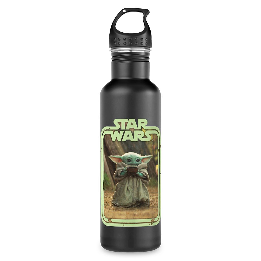 The Child Holding Cup Stainless Steel Water Bottle – Star Wars: The Mandalorian – Customized
