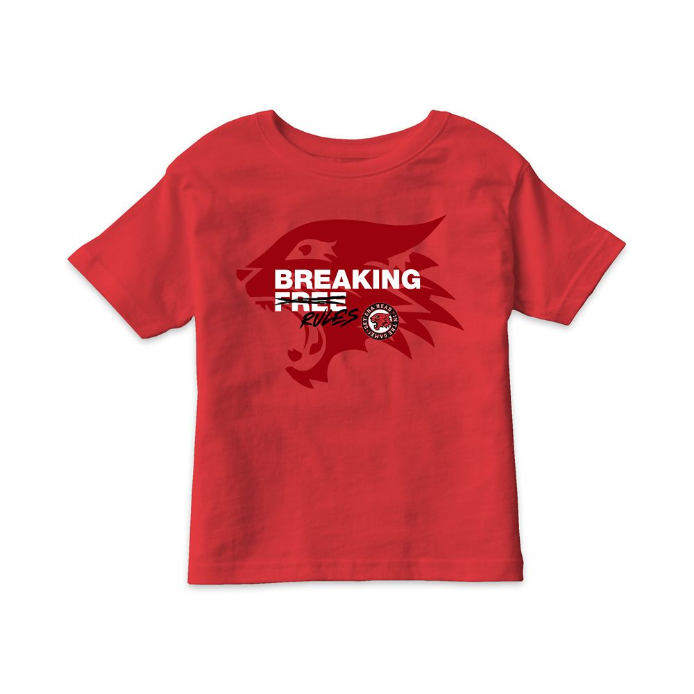 Breaking Free Wildcats T-Shirt for Kids – High School Musical: The Musical: The Series – Customized