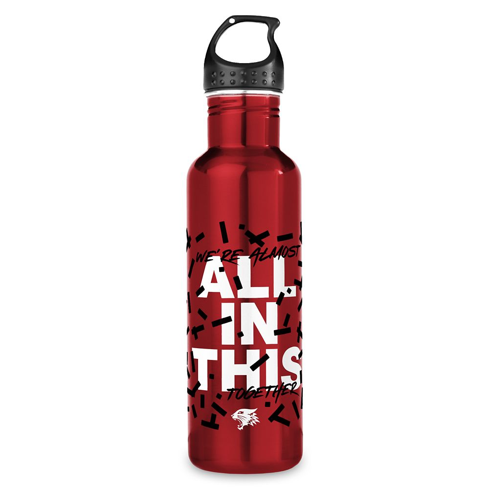 All in This Stainless Steel Water Bottle – High School Musical: The Musical: The Series – Customized