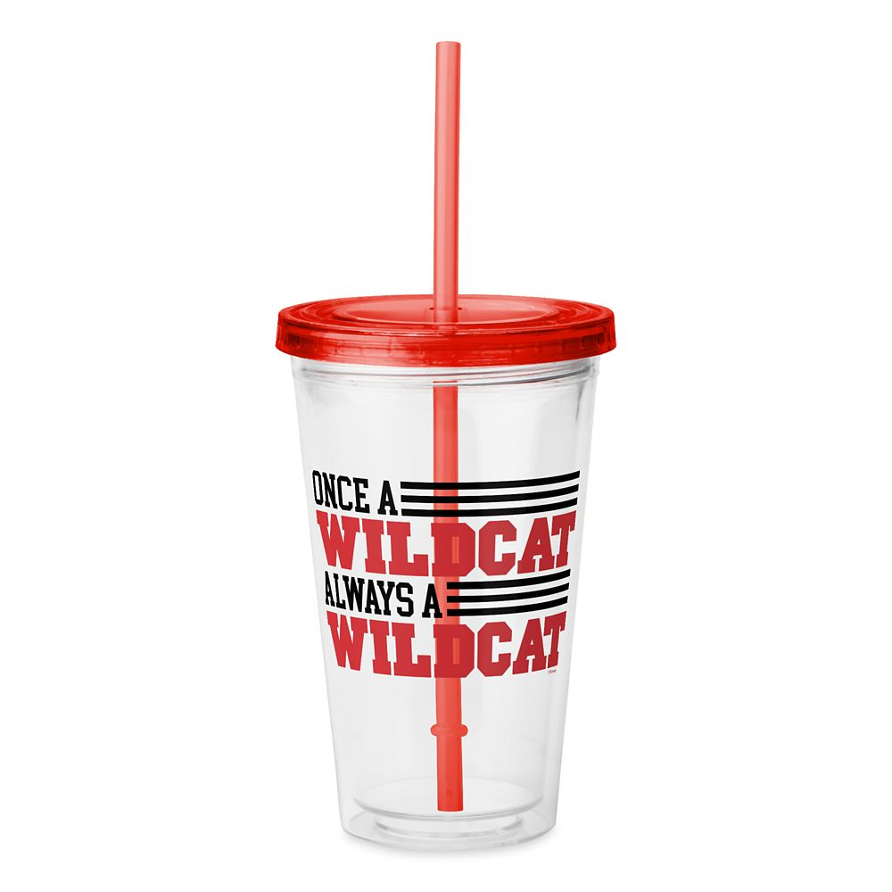 Always a Wildcat Tumbler with Straw – High School Musical: The Musical: The Series – Customized