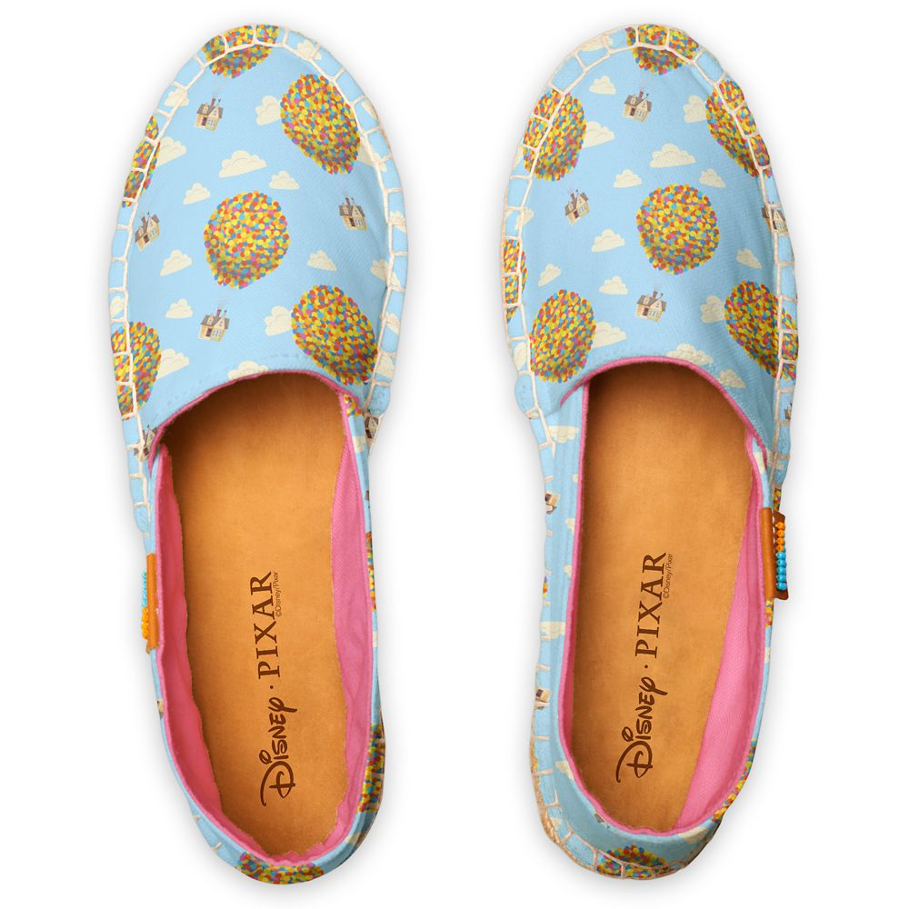 Up Balloon House Pattern Espadrilles for Women – Customized