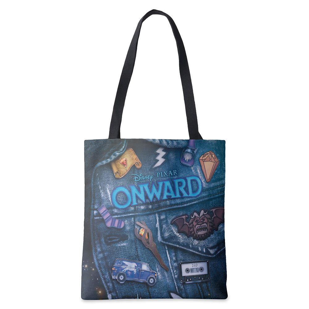 Onward: Barley Vest Poster Art Tote Bag – Customized