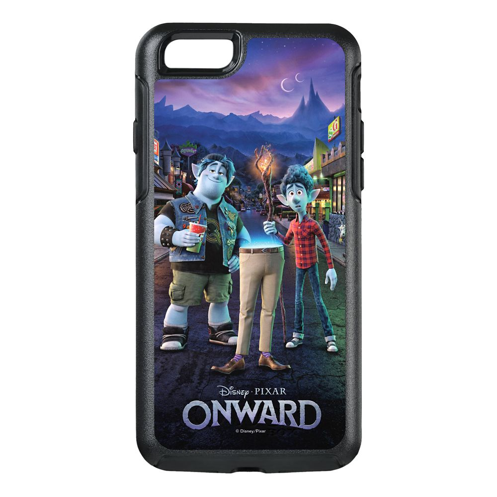 Onward: Ian, Barley & Dad Poster Art OtterBox iPhone X Case – Customized